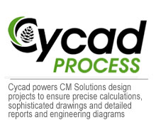 Cycad powers CM Solutions  design projects to ensure precise calculations, sophisticated drawings and detailed reports and engineering diagrams